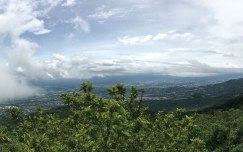 The view over Costa Rica