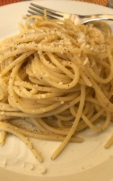 When in Rome: Cacio e Pepe