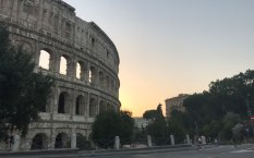 Always majestic, the colosseum