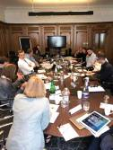 The Task Force meeting in Edinburgh.