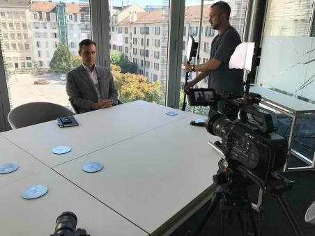 Preparing the interview with Alvaro.
