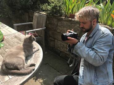 Nick, cat photographer.