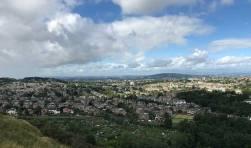 View of Edinburgh.