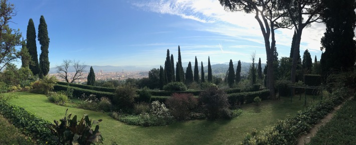 Florence, seen from the incredible Torre di Bellosguardo hotel