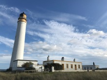 The lighthouse east of Dunbar