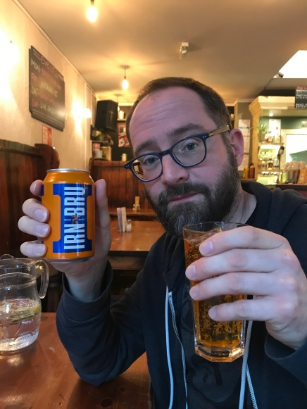 When in Scotland, drink what the Scots drink